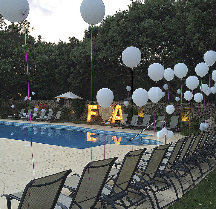 piscina boda
