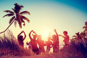 verano fiesta playa